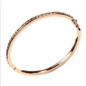 Givenchy Swarovski element Rose gold bangle